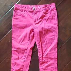 Limited Too Pink Stretch Denim Size 10